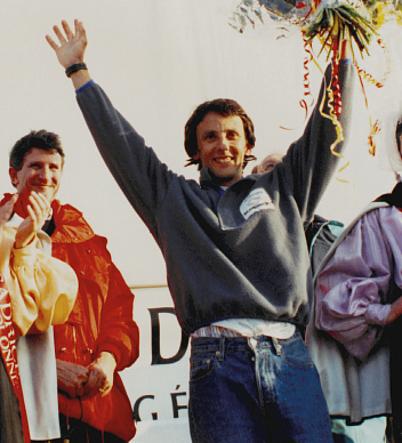 Image du vainqueur du Vendée Globe 2nde édition 1992-1993